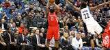 Hot-shooting Rockets defeat Wolves 129-105