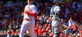 Brewers fall 10-1 in Cardinals' home opener