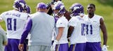 Vikings' depth makes it tougher for rookies to stand out