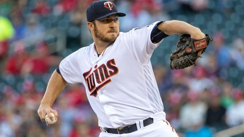 Phil Hughes, Twins pitcher