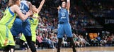 Lynx use 40-4 first-half run to defeat Dallas Wings, 93-56