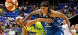 Lynx's Augustus reaches 5K career points in OT win over Wings