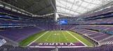 Vikings open U.S. Bank Stadium with ceremony, fireworks