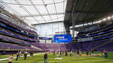 Vikings Stadium Football