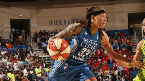 Best Moment (Part Two): Seimone Augustus' game-winning shot in overtime July 17 against the Dallas Wings