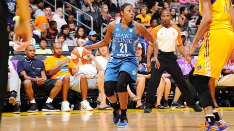 Best Moment (Part One): Renee Montgomery's game-winning 3-pointer June 21 vs. the Los Angeles Sparks