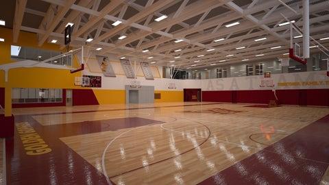 Basketball Development Center Practice Court