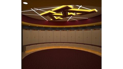 Basketball Development Center Locker Room