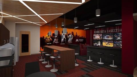 Basketball Development Center Women's Players' Lounge