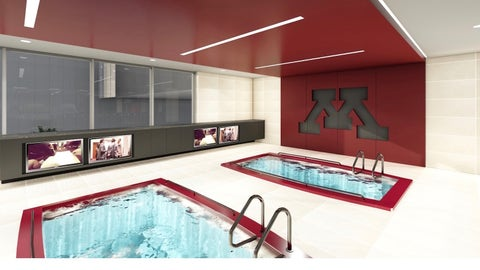Football Performance Center Hydrotherapy