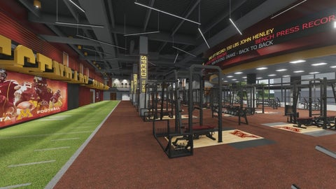 Football Performance Center Strength and Conditioning