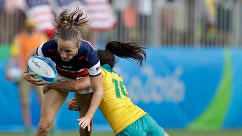 Katie Johnson, rugby