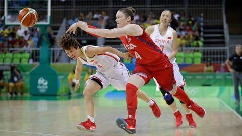 Lindsay Whalen, basketball