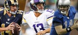 Who is Vikings quarterback Shaun Hill?