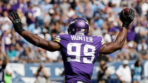 Danielle Hunter, Vikings defensive end (↑ UP)