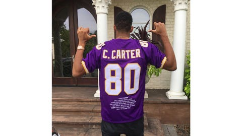 Cris Carter, former Vikings receiver