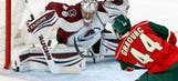 Staal makes Wild debut in 4-1 preseason loss to Avalanche
