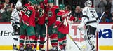 Wild's penalty kill stays perfect in 6-3 win over Kings