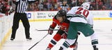 Wild open road trip with overtime loss to Devils