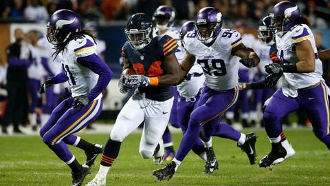 Jordan Howard, RB, Bears (NA last week)