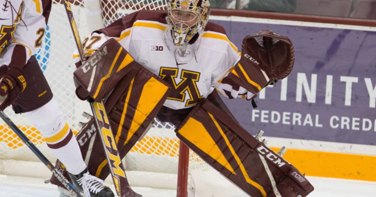 McLeod Hockey Blog: Schierhorn to tie Gophers program record on Friday
