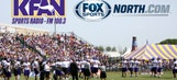 KFAN on FOX Sports North LIVE from Vikings training camp, 9 a.m.