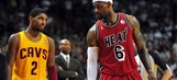 Kyrie Irving on playing with LeBron James: It will be a pleasure to learn from him