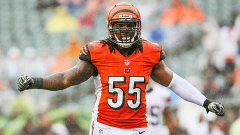 Vontaze Burfict, LB, Arizona State / Undrafted rookie free agent signed by the Cincinnati Bengals