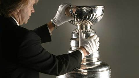 The cup has a chaperone