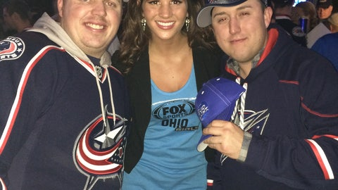 CBJ Fan Cam from R Bar on Jan 10