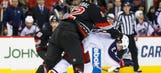 Hurricanes steal 3-2 win over Blue Jackets