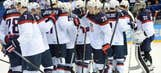 US crushes Slovakia 7-1 in men's Olympic hockey
