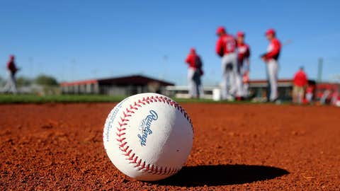 Reds first spring full-squad workout