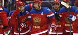 Team Russia survives shootout with Slovakia 1-0