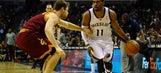 Randolph, Conley lead Grizzlies past Cavaliers 110-96