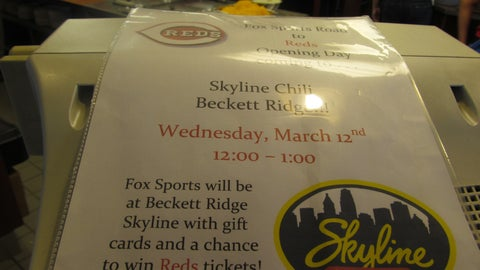 Road Trip to Opening Day at Beckett Ridge Skyline Chili