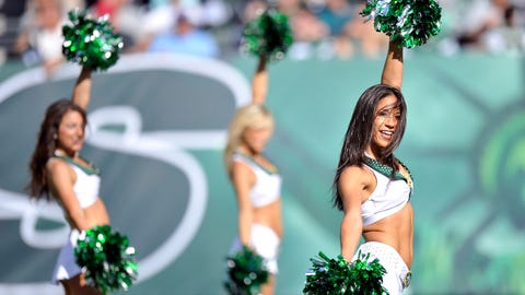 Jets cheerleaders