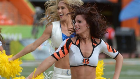 Bengals, Colts cheerleaders