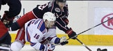 Brassard's third-period goal lifts Rangers, 3-1