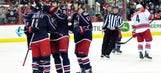 Blue Jackets top Hurricanes 3-2 in OT