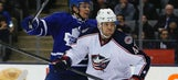 Prout, Anisimov lift Blue Jackets over Maple Leafs