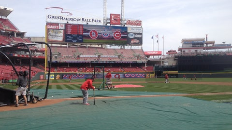 2014 Reds Opening Day