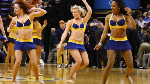 Pacers Dancers