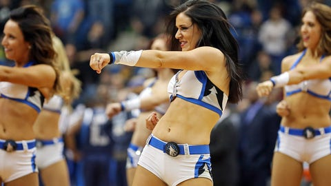 Timberwolves Dancers