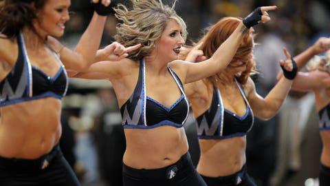 Timberwolves Dancers