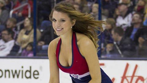 CBJ Ice Girl
