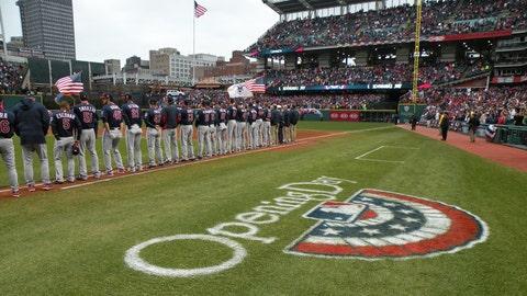 Cleveland Indians Home Opener