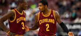 Kyrie addresses extension, offers support for Brown