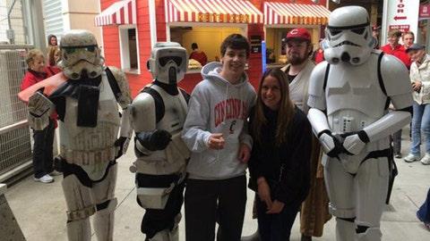 Cincinnati Reds Star Wars Weekend