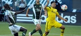 Timbers play to 3-all draw with Crew